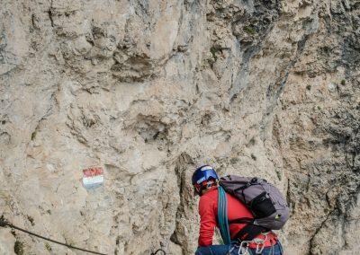 Ferrata al Monte Roen